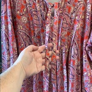 Lands' End Tops - Paisley Tunic Top